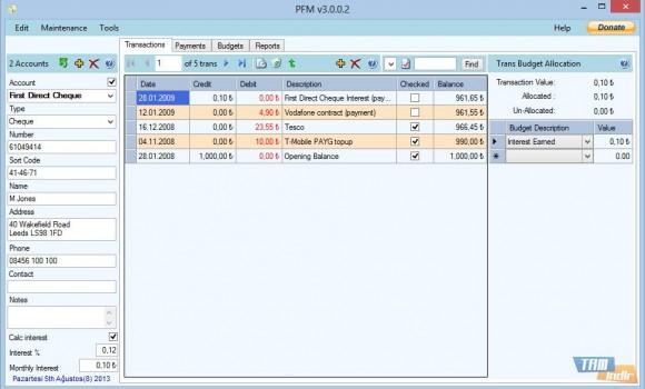 Personal Finance Manager Ekran Görüntüleri - 4