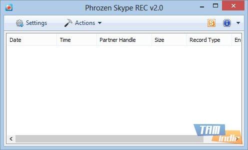 Phrozen Skype REC Ekran Görüntüleri - 1