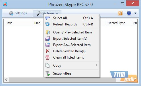 Phrozen Skype REC Ekran Görüntüleri - 3