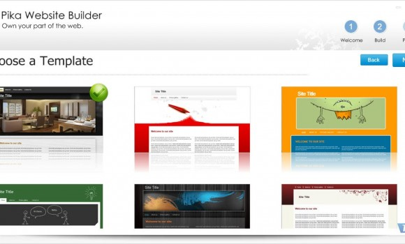 Pika Website Builder Ekran Görüntüleri - 4
