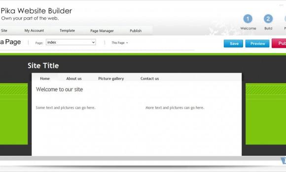 Pika Website Builder Ekran Görüntüleri - 3