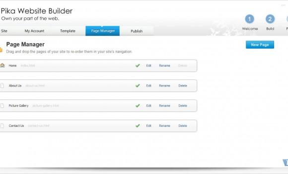 Pika Website Builder Ekran Görüntüleri - 2