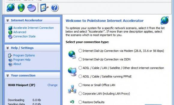 Pointstone Internet Accelerator Ekran Görüntüleri - 4