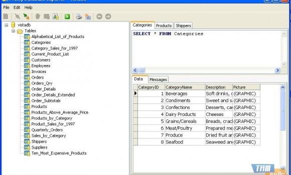 Pretty Database Explorer Ekran Görüntüleri - 2