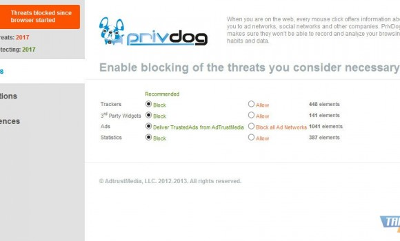 PrivDog Ekran Görüntüleri - 3