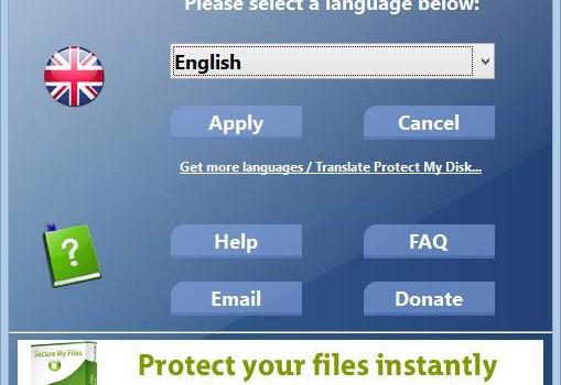 Protect My Disk Ekran Görüntüleri - 1