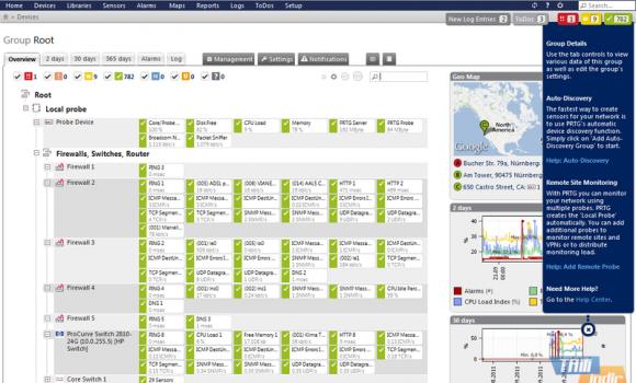 PRTG Network Monitor Ekran Görüntüleri - 4