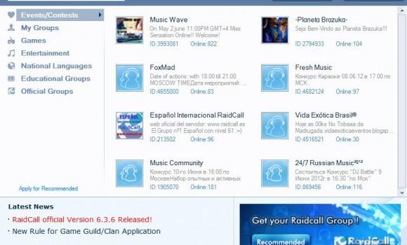 Raidcall Ekran Görüntüleri - 2