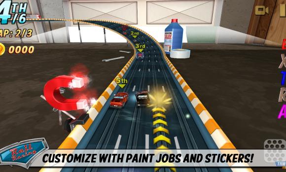 Rail Racing Ekran Görüntüleri - 3