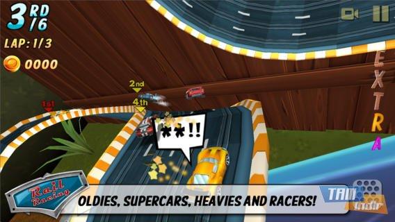 Rail Racing Ekran Görüntüleri - 1