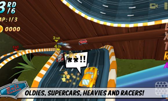 Rail Racing Ekran Görüntüleri - 2