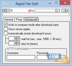 Rapid File Get Ekran Görüntüleri - 1