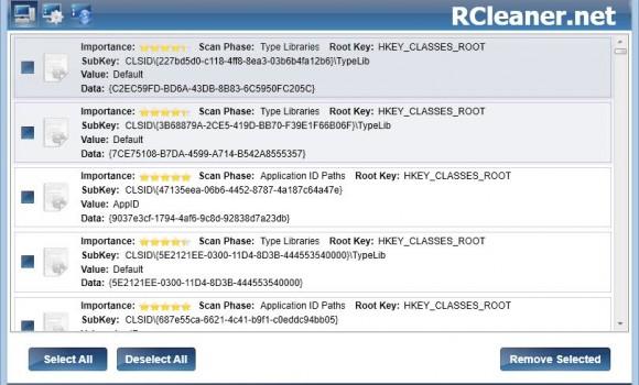 RCleaner Ekran Görüntüleri - 1