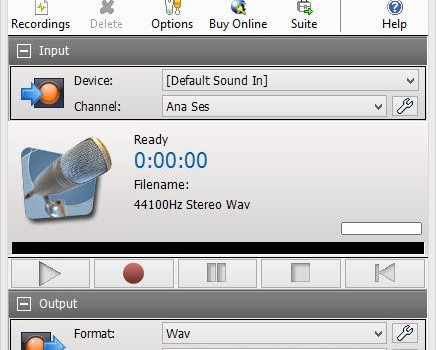 RecordPad Sound Recorder Ekran Görüntüleri - 4