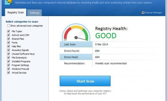 Registry Cleaner Ekran Görüntüleri - 2