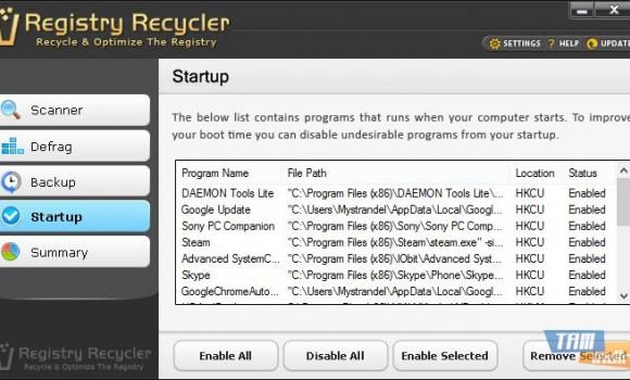 Registry Recycler Ekran Görüntüleri - 3