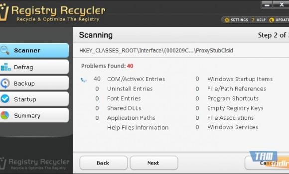 Registry Recycler Ekran Görüntüleri - 2