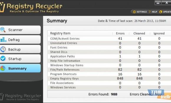 Registry Recycler Ekran Görüntüleri - 1