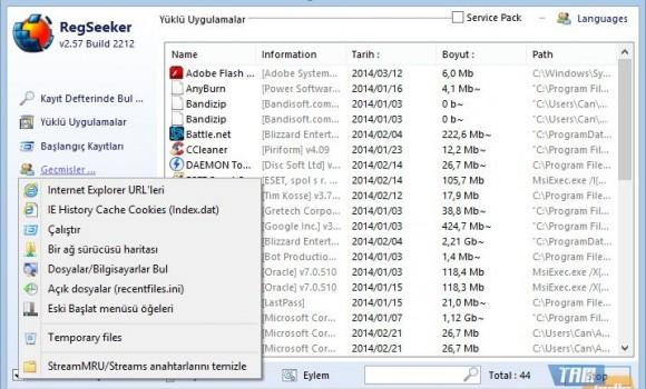 RegSeeker Ekran Görüntüleri - 2
