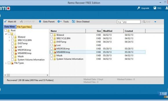 Remo Recover FREE Edition Ekran Görüntüleri - 1