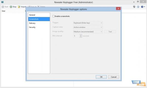 Revealer Keylogger Free Ekran Görüntüleri - 1