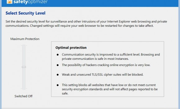 Safety Optimizer Ekran Görüntüleri - 2