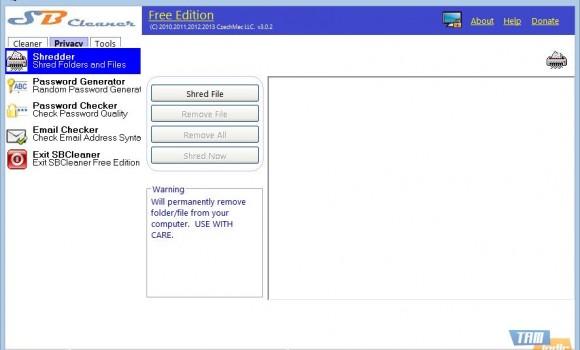 SB Cleaner Free Edition Ekran Görüntüleri - 2