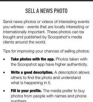 Scoopshot Ekran Görüntüleri - 2