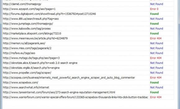ScrapeBox Link Checker Ekran Görüntüleri - 1