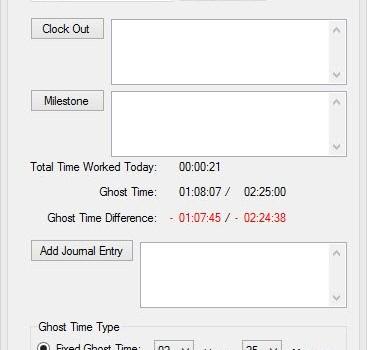 Self Employed Time Manager Ekran Görüntüleri - 1