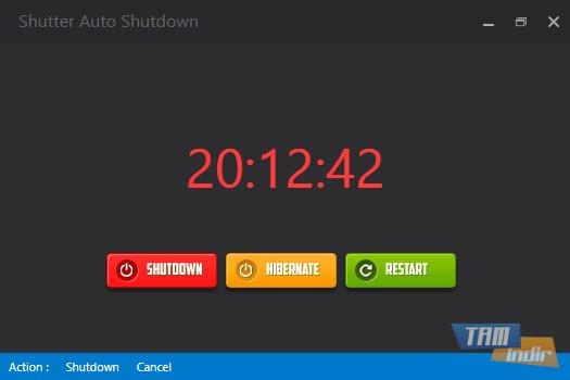 Shutter Auto Shutdown Ekran Görüntüleri - 1
