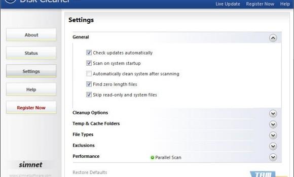 Simnet Disk Cleaner Ekran Görüntüleri - 1