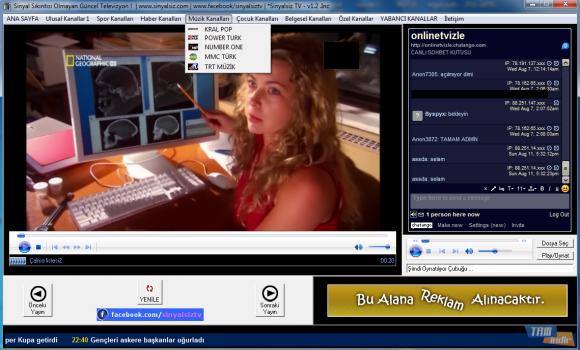 Sinyalsiz TV Ekran Görüntüleri - 3