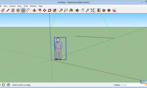 SketchUp Make Ekran Görüntüleri - 3