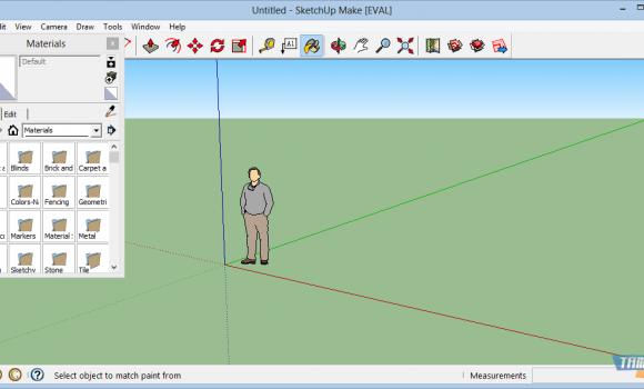 SketchUp Make Ekran Görüntüleri - 2