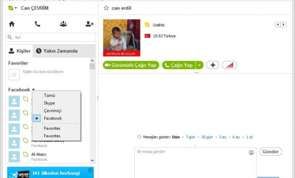 Skype Ekran Görüntüleri - 4