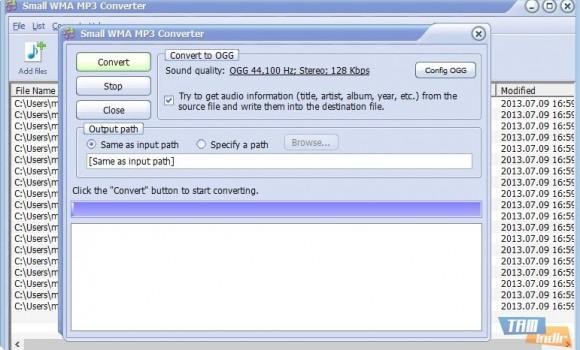 Small WMA MP3 Converter Ekran Görüntüleri - 1