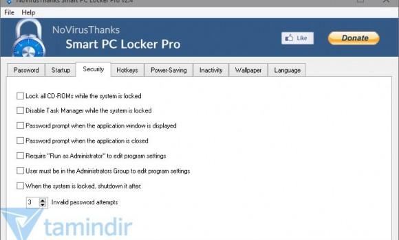 Smart PC Locker Pro Ekran Görüntüleri - 3