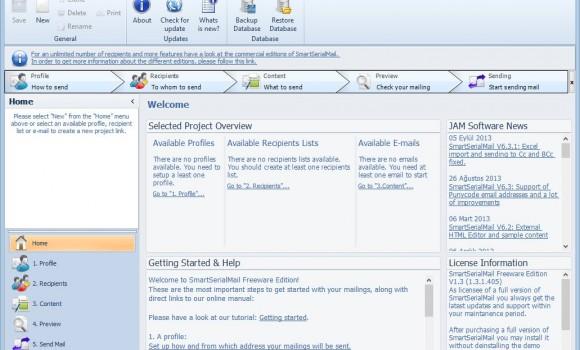 SmartSerialMail Freeware Ekran Görüntüleri - 5