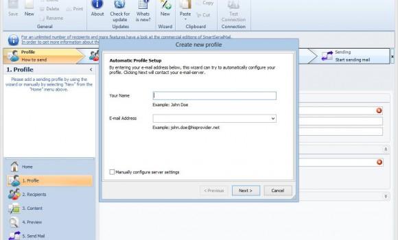 SmartSerialMail Freeware Ekran Görüntüleri - 4