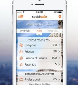 SocialRadar Ekran Görüntüleri - 5