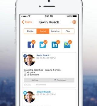 SocialRadar Ekran Görüntüleri - 2