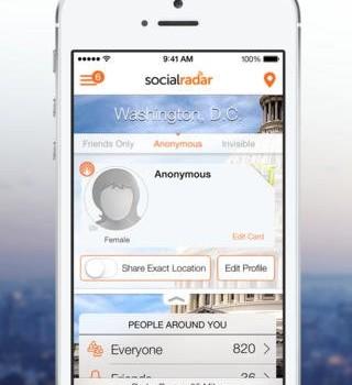 SocialRadar Ekran Görüntüleri - 1