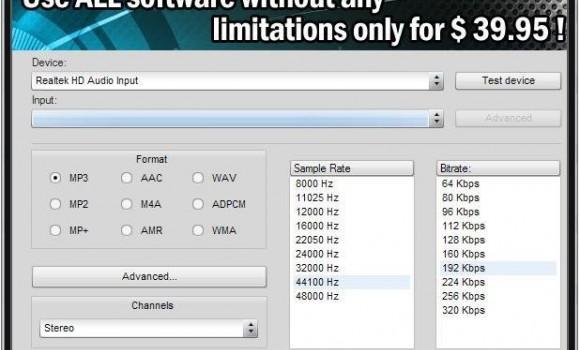 Soft4Boost Any Audio Record Ekran Görüntüleri - 2