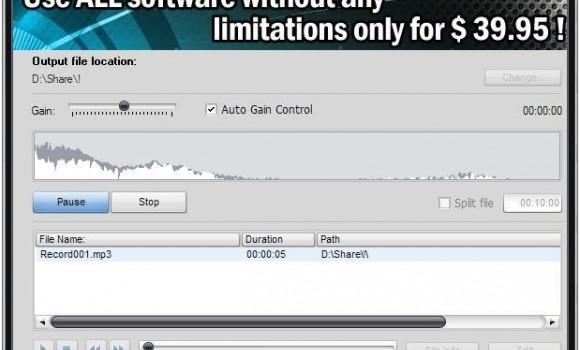 Soft4Boost Any Audio Record Ekran Görüntüleri - 1