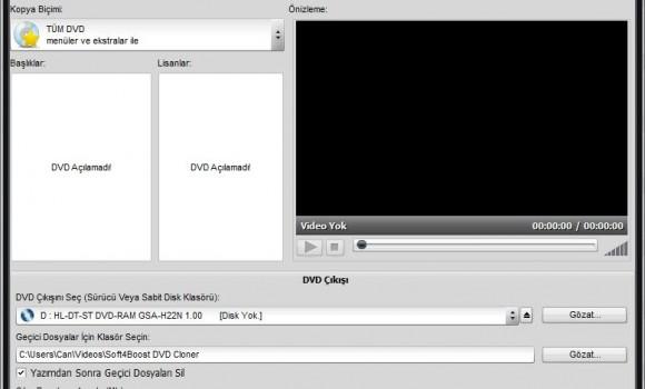 Soft4Boost DVD Cloner Ekran Görüntüleri - 2