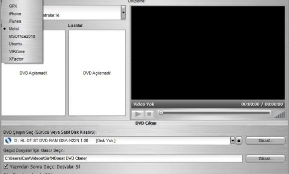 Soft4Boost DVD Cloner Ekran Görüntüleri - 3