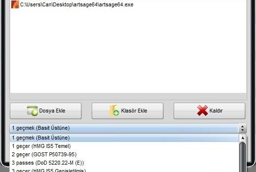 Soft4Boost Secure Eraser Ekran Görüntüleri - 1
