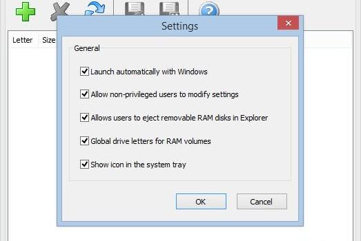 SoftPerfect RAM Disk Ekran Görüntüleri - 1