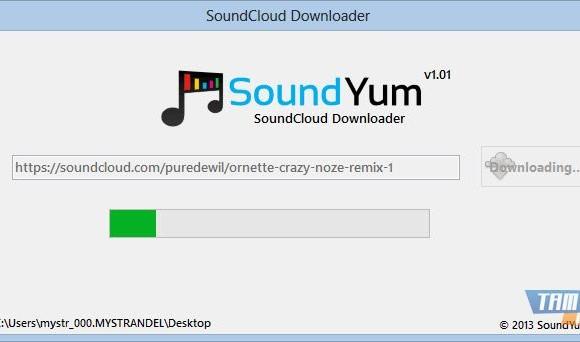 SoundCloud Downloader Ekran Görüntüleri - 1